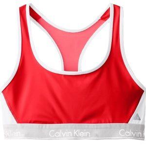 Calvin Klein NWT Flex Motion Racerback Sports Bra
